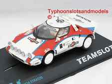 11514 Team Slot Lancia Stratos T.a.c Rally 'Martini' - Nuevo y Sellado