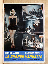 LA GRANDE VENDETTA fotobusta poster Patricia Knight Hitler The Magic Face 1951