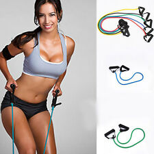 Unisex Resistance Random Set Yoga Pilates Exercise Fitness Tube Workout Bands