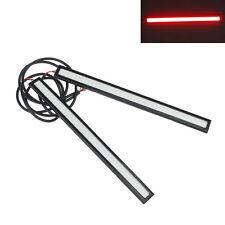 2x Imperméable Voiture 12V COB Rouge Lumière LED DRL Fog Driving Lampen 17cm