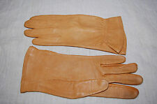 Vintage Deerhide Leather Ladies Gloves Tan Small Size 7 Styres of Little Falls