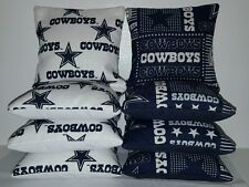 Set Of 8 DALLAS COWBOYS Regulation Cornhole Bean Bags ***FREE SHIPPING***