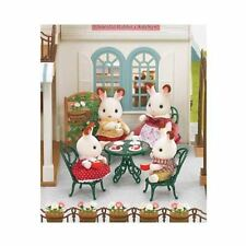Sylvanian Families - Ornate Garden Table & Chairs - 4507 - New