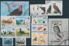Azerbaijan stamp Birds 17 stamps with sets blocks of 4 1994 Used WS179606