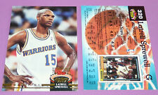 LATRELL SPREWELL GOLDEN STATE WARRIORS TOPPS 1992-1993 NBA BASKETBALL CARD
