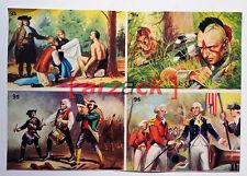 Album LONTANO WEST 2 DARDO 1963 - 4 figurine 93 94 95 96