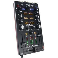 Akai AMX Mixing Surface With Audio Interface For Serato DJ