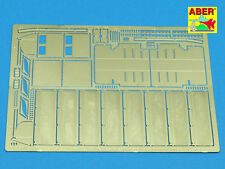 1/35 ABER 35A11 SIDE FENDERS & EXHAUST COVERS for GERMAN TIGER I AFRIKA KORPS