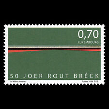 "Luxembourg 2016 - 50th Anniv the Rout Breck ""The Red Bridge"" - MNH"