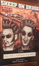 """40x60"""" HUGE SUBWAY POSTER~Sheep on Drugs 1993 Tour From A to H and Back Again~"""