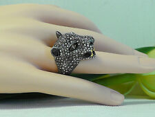 Alexis Bittar 'Elements - Cordova' Jaguar Cocktail Ring. Size 7. *****NEW***