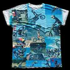 RARE Fight Club Movie Tyler Durden MOTOCROSS Design Replica T-Shirt Shirt NEW