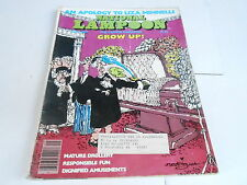 SEPT 1977 NATIONAL LAMPOON vintage magazine - GROW UP