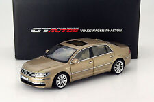 Welly GT AUTOS 2010 Volkswagen Phaeton Gold 1:18*New Stock!