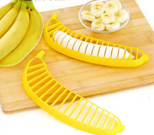 Swift Kitchen Fruit Banana Corer Slicer Wedger Divider Cutter Cut Pie Dicing   E