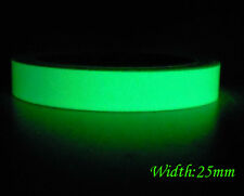 Luminous Tape Self-adhesive Glow In The Dark Stage Home Decoration 25mm Green PS