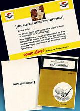 PEPSI COLA | ALTES GOLF CLUB TOURNAMENT FALTPROSPEKT 1965   RARES ORDERMUSTER