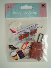 JOLEE'S BOUTIQUE STICKERS - TAKING OFF airplane travel