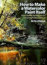 "ENGLE ""HOW TO MAKE A WATERCOLOR PAINT ITSELF"" 2000 1ST/3RD HC/DJ NF-/NF HOW-TO"