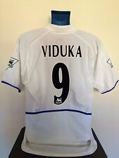 Leeds United VIDUKA 02/03 Home Football Shirt (XL) Soccer Jersey