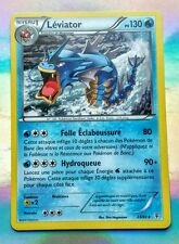 CARTE POKEMON ULTRA RARE NEUVE LEVIATOR  130pv 23/83 X Y Black star