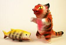 KONATSU NEGORA MAX TOY COMPANY MARK NAGATA SOFUBI KAIJU CAT BIG FISH TIGER RARE