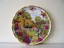 Garden Royal Albert Plate Cottage Tranquil Garden China Country Bone China 1992