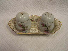 OLD FOLEY JAMES KENT STAFFORDSHIRE ENGLAND CHIMARITA 5769 DAMOND SALT& PEPPER