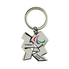 London 2012 Paralympic Games Keyring (White)