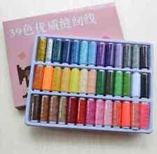 39 Farben Polyester Nähgarne Nähfaden Nähen Zubehör Gute Qualität