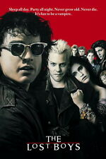"002 The Lost Boys - 1987 American Horror Film Movie 14""x21"" Poster"