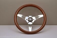 NARDI Deep Corn 330MM Wood Polished Spoke Steering Wheel - 5069.33.3000 IN STOCK