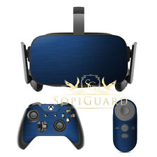 SopiGuard Brushed Blue Film Protector for Oculus Rift Headset Remote Xbox