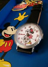 BNIB GOLDEN YEARS OF DISNEY BY INGERSOLL UNISEX WATCH WHITE DIAL