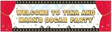 5ft film di Hollywood PROM NIGHT PARTY DECORAZIONE GIGANTE banner personalizzato