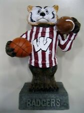 Wisconsin University Badgers Ceramic Mascot Figurine by Talegaters