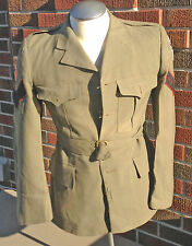 1952 Dated Summer Worsted Jacket Queens Own Rifles 27th Canadian Brigade NCO