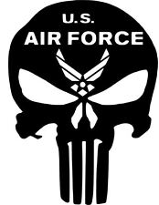 Punisher Car Truck Vinyl Decal Sticker Military Air Force Army Navy Marines MP