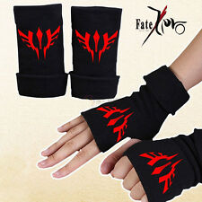 Anime Fate Stay Night Half Finger Glove Cotton Mitten Lovers Cosplay Gift New