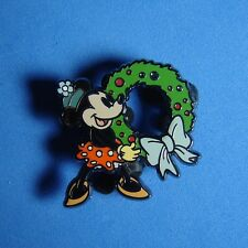 Minnie Mouse with Wreath Disney Shopping Pin from Advent Set #2 Christmas LE