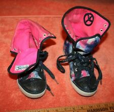 2013 Women's Justice Multi-Colored High Top Shoes size 2
