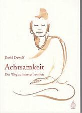Achtsamkeit von David Dewulf (2009, Taschenbuch) #x532
