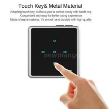 2in1 Metal Touch Wireless Bluetooth Audio Transmitter+Receiver For MP3 MP4 PC TV
