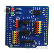 Hot Expansion IO Board Sensor Shield Compatible Fr Arduino UNO/Leonardo/Mega2560