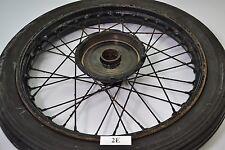 DKW Luxus 200 Blutblase / Block - Felge Rad wheel Rim Radnabe Speichen-Felge