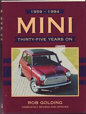 MINI THIRTY FIVE YEARS ON ROB GOLDING COOPER DOWNTON MOKE SPECIALS VAN PICK-UP