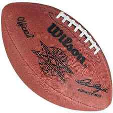 SUPER BOWL 20 XX - Wilson Official Game Football (BEARS PATRIOTS)