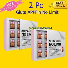 2X GLUTA APPFiN NO LIMIT Whitening in 15 days Edible Glutathione No Injection