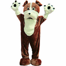 Deluxe Bulldog Mascot Warm Costume By Dress Up America - (Adult One Size)