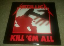 METALLICA Kill 'Em All LP e160766 vinyl record album FIRST PRESSING ELECTRA RARE